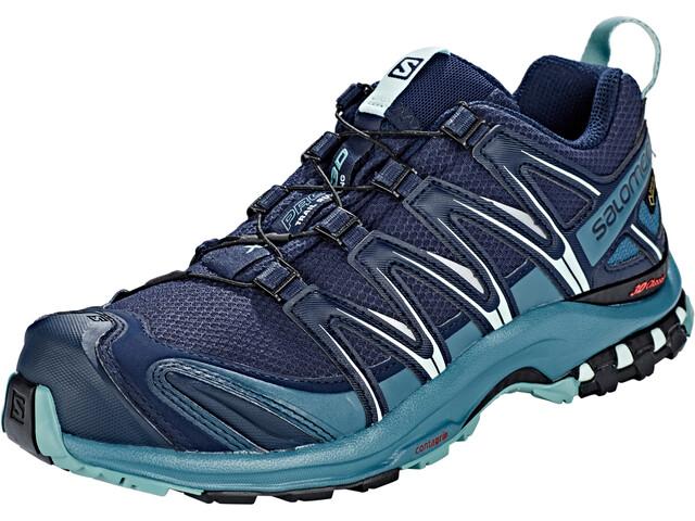 Salomon XA Pro 3D GTX Chaussures running Femme, navy blazer/mallard blue/trellis